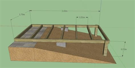 Shed Base On A Slope by Siding A Shed With Vinyl Steel Shed Framing Plans Garden