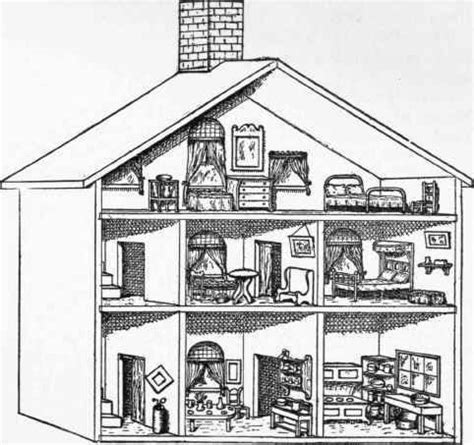 dolls house projects 30 best images about printed dollhouse on pinterest vintage dollhouse paper houses