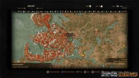 golden sturgeon witcher 3 map act i novigrad the witcher 3 the wild hunt