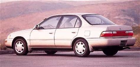 1997 toyota corolla review