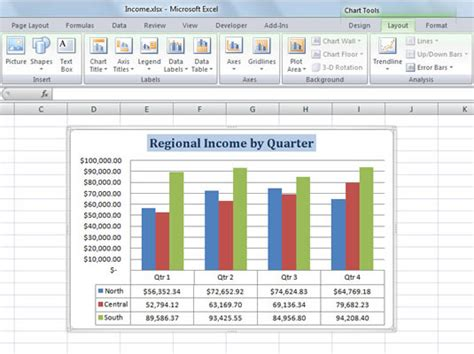 layout in excel 2007 charts in excel for dummies choice image how to guide