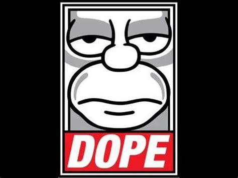 los simpson homero dope youtube