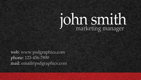 front and back business card template photoshop blank visiting card background black design cyberuse
