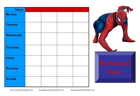 free printable reward charts spongebob reward charts for kids printable reward charts for kids