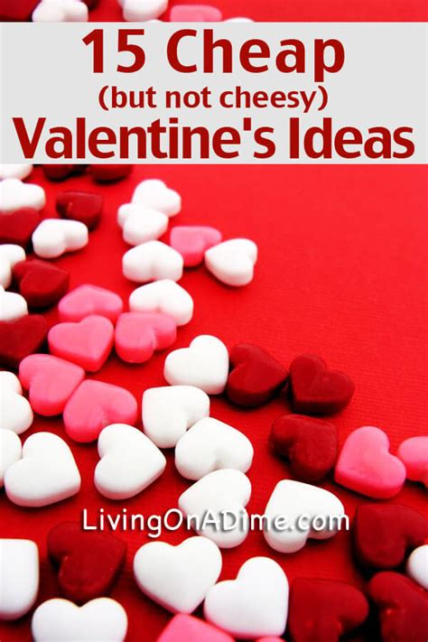 valentines ideas for cheap inexpensive s day gifts for husband