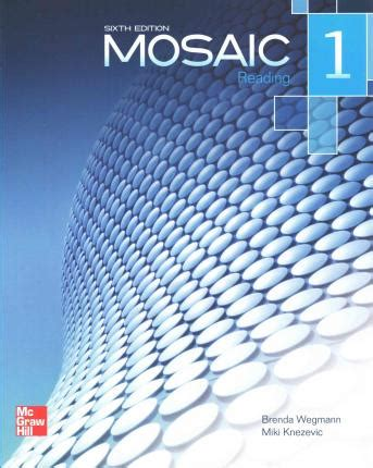 mosaic 4 students book mosaic level 1 reading student book miki knezevic 9780077595111