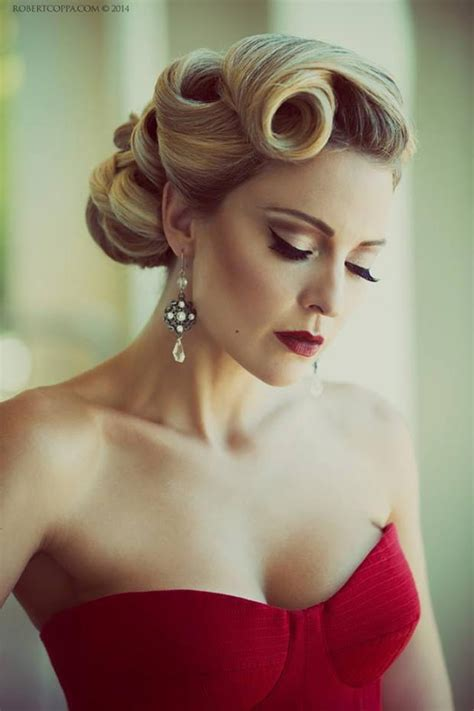 Vintage Wedding Hairstyles Tutorial by Search Results For 50s Hair Up Dos Black Hairstyle And