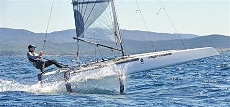 catamaran vs hydrofoil sailing news a cat french chionship 2013 hy 232 res