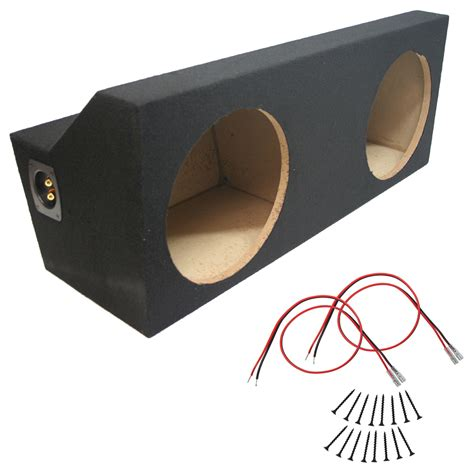 Custom Audio Box Speaker Terios custom ford mustang 05 12 coupe dual 12 quot subwoofer box stereo mdf sub enclosure sub wire