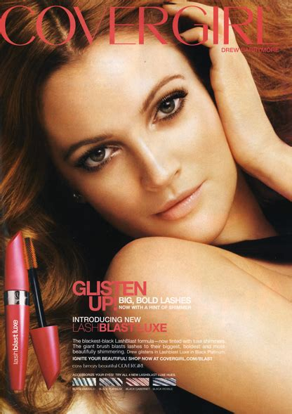 Drew Barrymore Is The New Covergirl by Crush Drew Barrymore Amandawassie