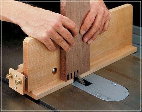 woodwork jigs woodworking box joint jig box