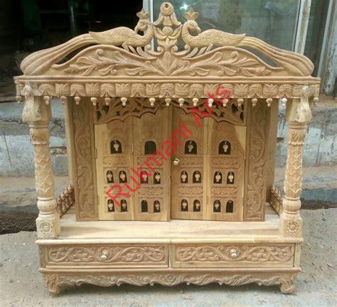 code 96 wooden carved teakwood temple mandir wooden
