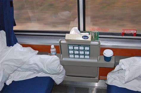 California Zephyr Sleeper Car by 0399 Roomette On Amtrak Superliner Sleeping Car By Day
