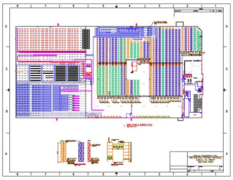 warehouse layout abc layout design always equipment inc