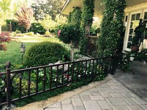 front yard iron fence wrought iron railings for front yard sacramento ca
