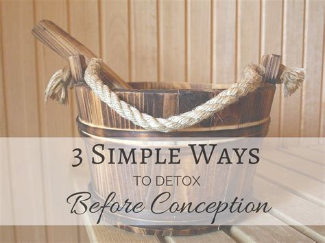 How To Detox Before Pregnancy by 3 Easy Ways To Detox Before Pregnancy