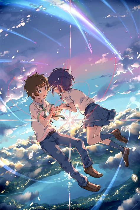 anime kimi no na wa die besten 78 ideen zu anime auf pinterest hei 223 e anime