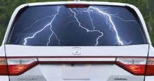Lightning Car Window Lightning See Through Car Window Decals Dezign With A Z