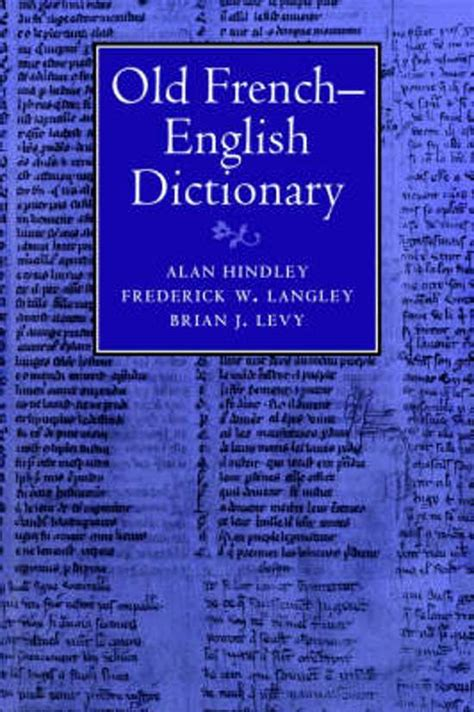 the cambridge french english thesaurus 0521425816 bol com old french english dictionary alan hindley frederick w langley 9780521345644 bo