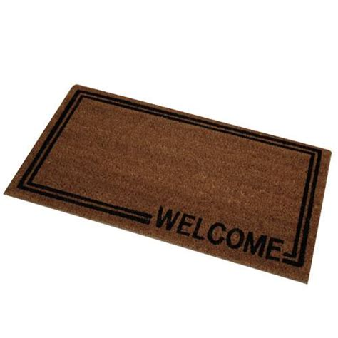 Doormat Indoor novelty welcome door mat indoor outdoor entrance doormat quality coir ebay
