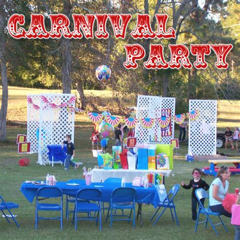 themes in carnival carnival party ideas caden s 2nd birthday party carnival