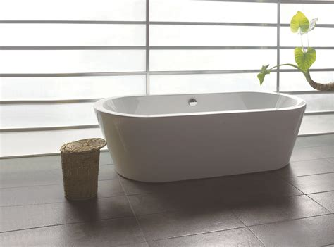 Bathtub Warehouse by 71 Quot Bathroom White Acrylic Freestanding