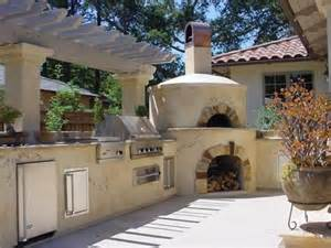 the perfect outdoor kitchen grill pizza oven deep fryer
