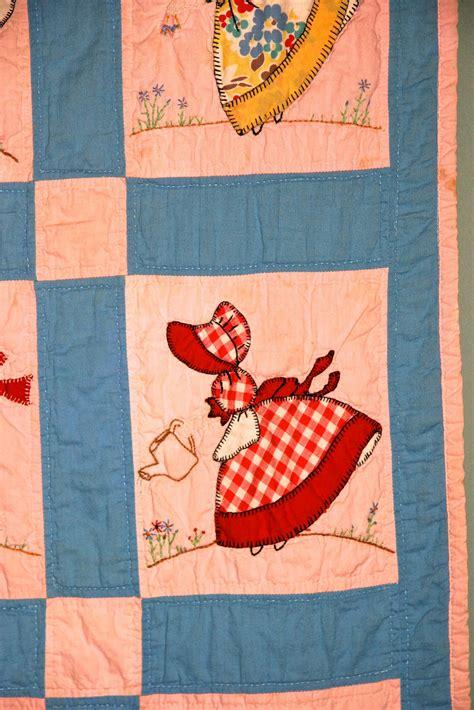 quilt pattern sunbonnet sue sunbonnet sue quilt patterns vintage quilt sun bonnet