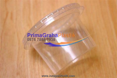 Cup Gelas Plastick Pp 2 In 1 Untuk 2 Jenis Minuman Berbeda cup plastik 100 ml quot agar agar puding dll quot stock ready