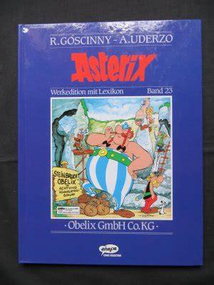 gebrüder albert gmbh co kg asterix werkedition mit lexikon asterix obelix gmbh