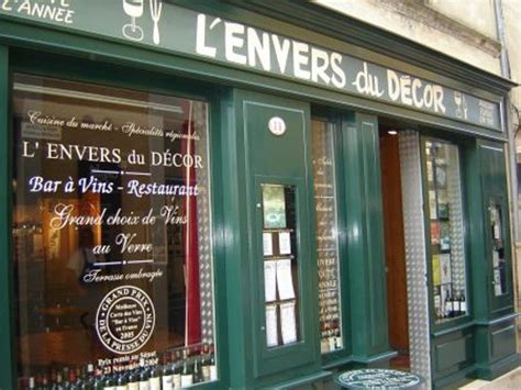 Lenvers Du Decor l envers du decor emilion restaurant avis num 233 ro