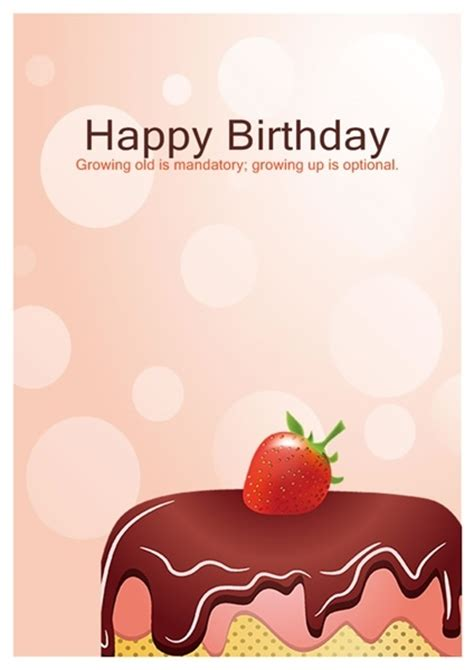 trec birthday card template birthday cards template resume builder