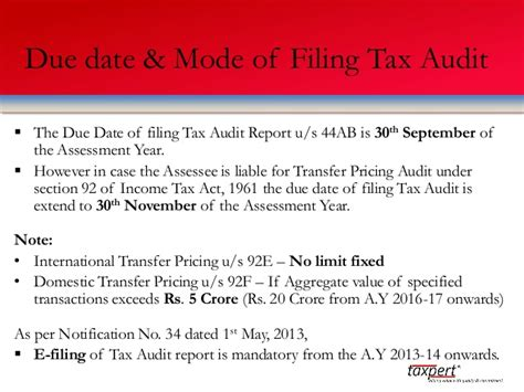 section 92 of income tax act taxpert professionals presentation on tax audit