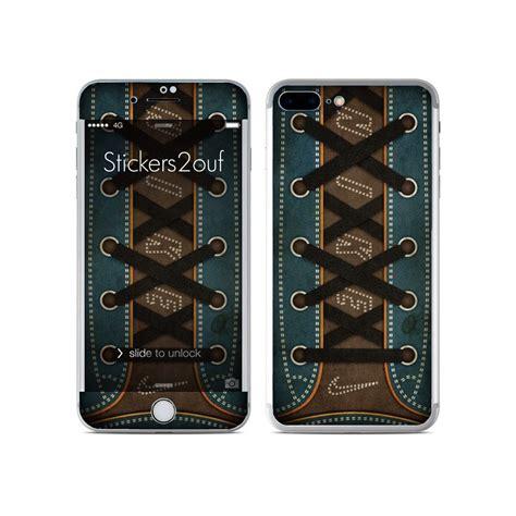 skin autocollant nike lacet iphone 7 plus stickers