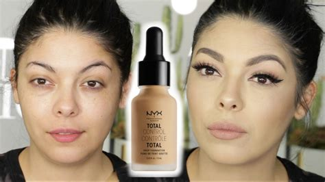 Nyx Total Drop Foundation new nyx cosmetics total drop foundation review