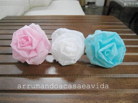 how to diy beautiful crepe paper flower