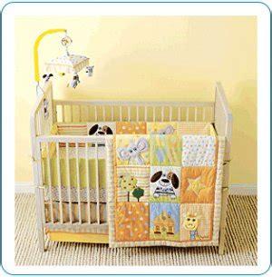 tiny tillia 4 yellow crib bedding set