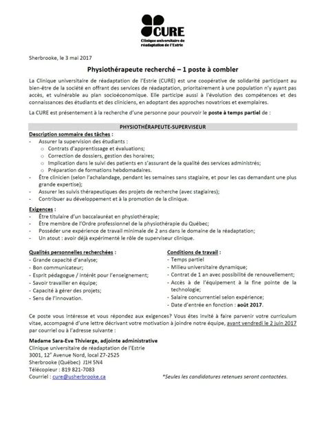 Lettre De Motivation Emploi Temps Partiel Resume Template It Auditing Resume Resume On Problem Starting A Resume From