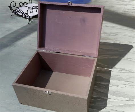 diy project shabby chic decoupage storage box