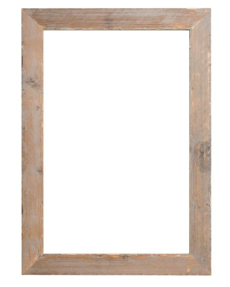 cornice 50x75 wood steigerhouten kader geschuurd kunstspiegel be