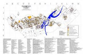 Texas State University Map texas state university map texas state university mappery
