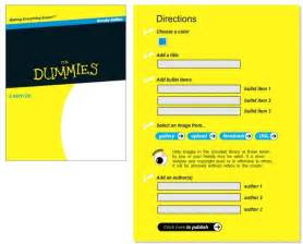 For Dummies Book Cover Template by Is Now Beta Testing An Automated Cover Generator