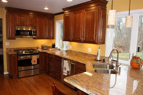 kitchen wall colors with cherry cabinets stirn contracting celebrates five years as one of