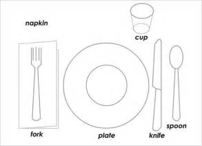 place setting template 5 place setting templates free sle exle format free premium templates