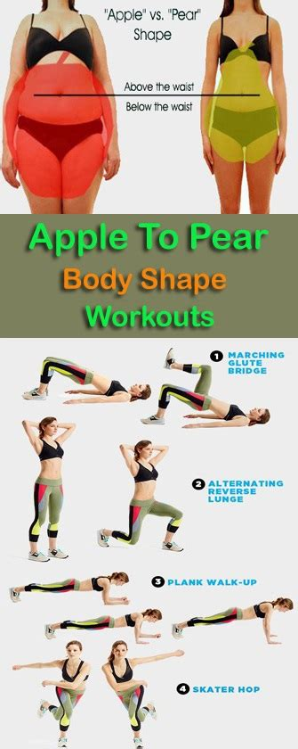 Exercises To Fit Every Shape And Size by 8 Best Exercises To Get An Apple Shape To Pear Shape