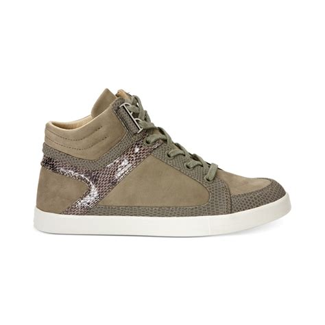 Womens High Top Sneakers Part 1 | calvin klein women s lyda high top sneakers in green