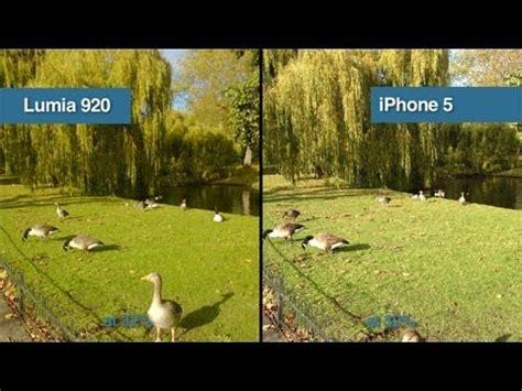 nokia lumia 920 vs iphone 5 camera test comparison youtube