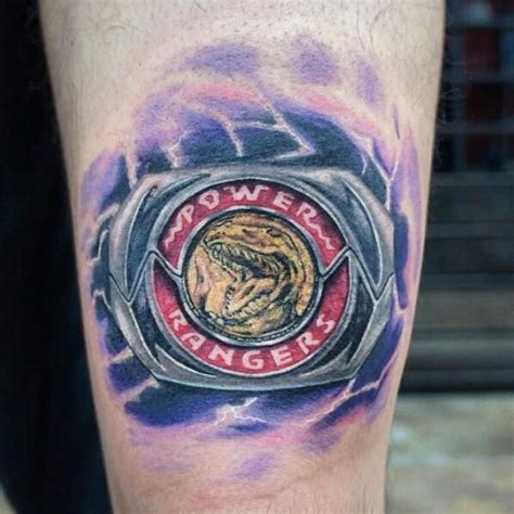 power rangers tattoo power ranger tattoos tatoos