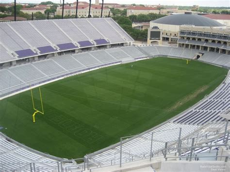 section 414 h amon carter stadium section 414 rateyourseats com