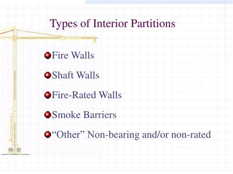 Interior Partition Types by Ppt Chapter 23 Interior Walls Partitions Powerpoint